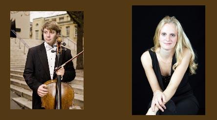Ben Gregor-Smith, cello and Aglaia Graf, piano